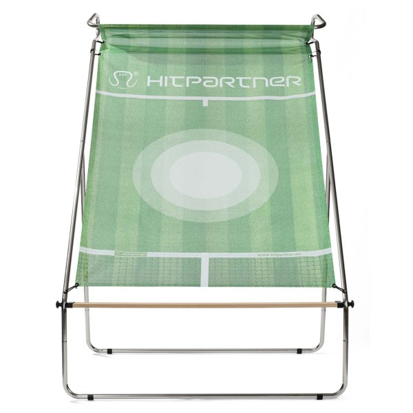 Tennis Wand HitPartner grün